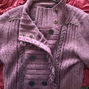 Super soft pink free people sweater